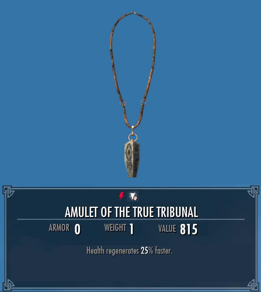 Amulet of the True Tribunal