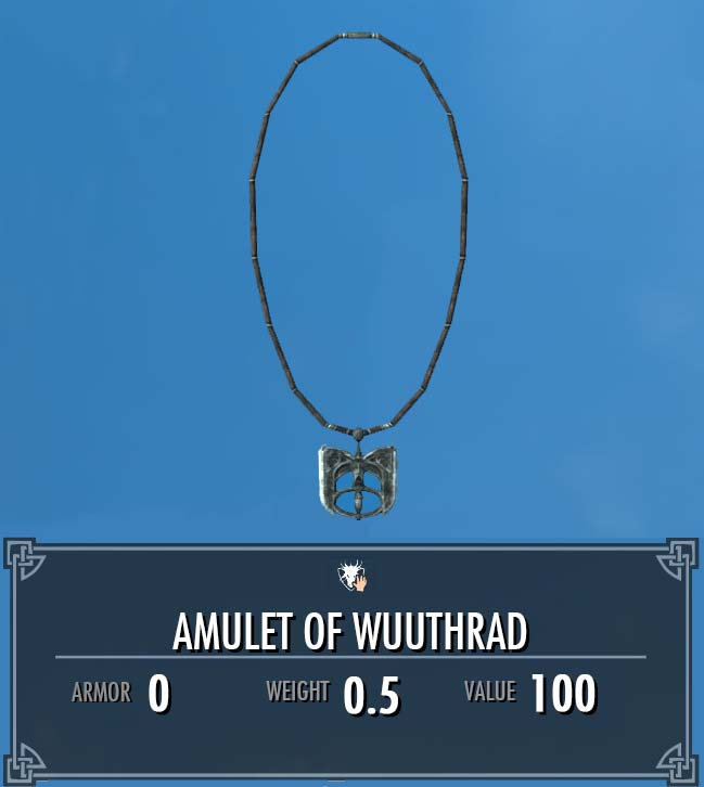 Amulet of Wuuthrad