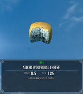 Sliced Wolfskull Cheese