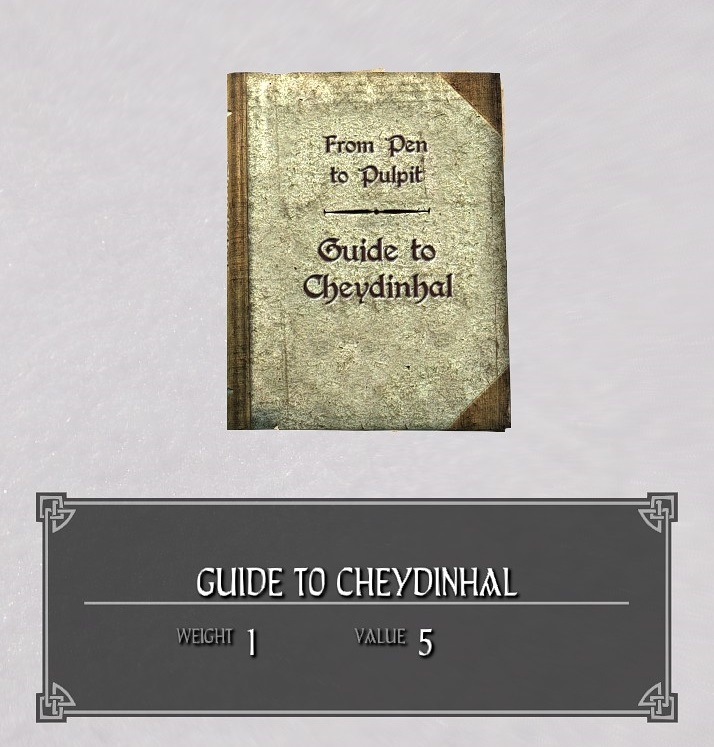Guide to Cheydinhal