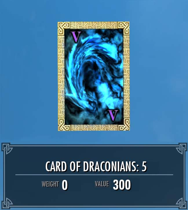Card of Draconians: 5