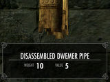Disassembled Dwemer Pipe