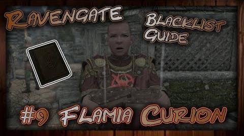 Ravengate Dossier- Flamia Curion - Fight Walkthrough - Skyrim SE (Legacy)