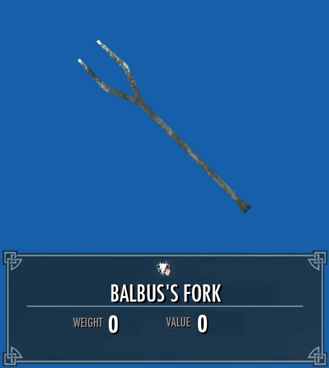 Balbus's Fork