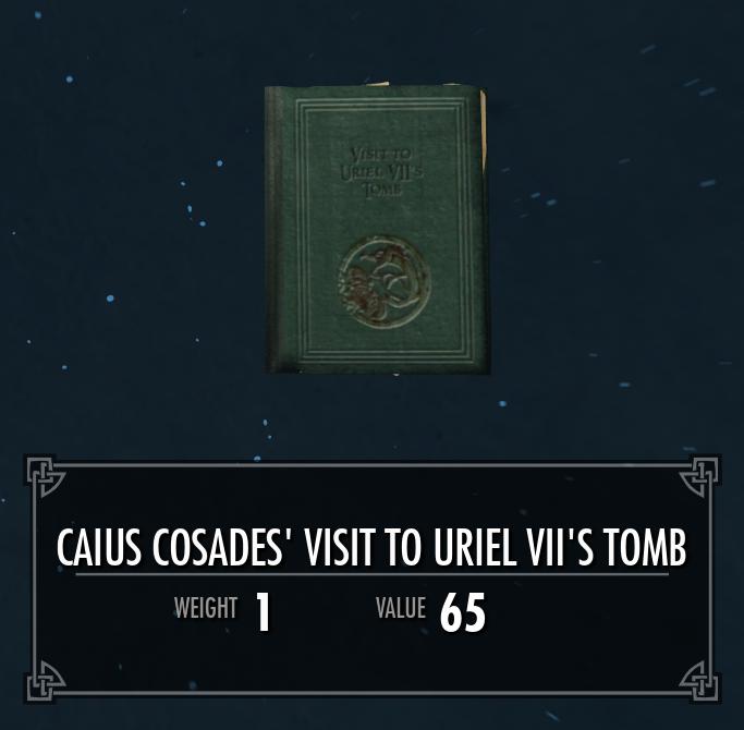 Caius Cosades' Visit to Uriel VII's Tomb