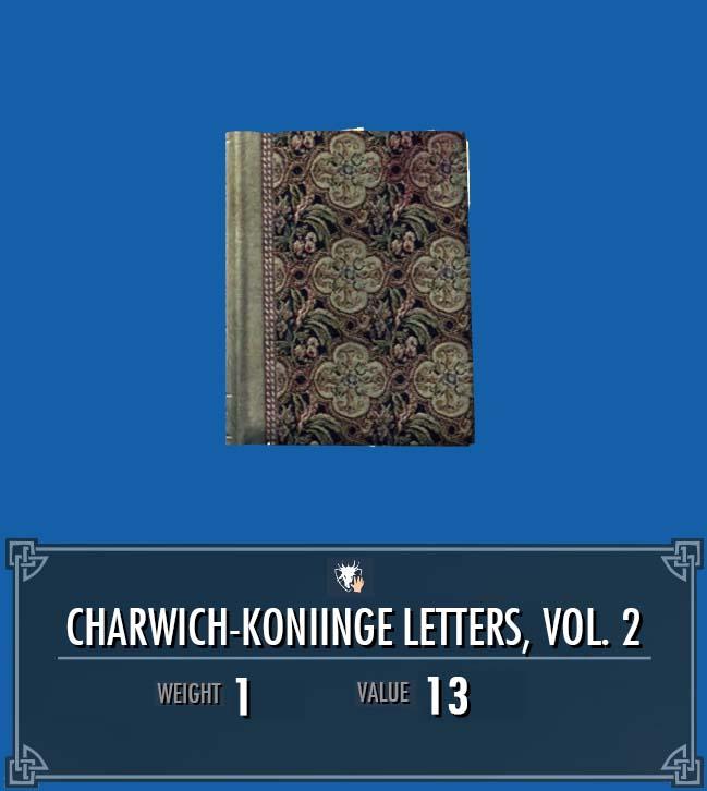 Charwich-Koniinge Letters, Vol. 2