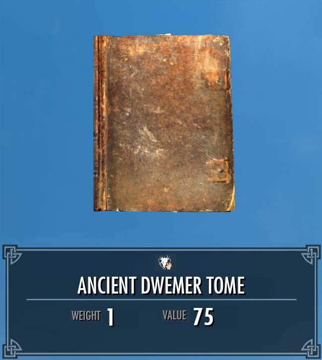 Ancient Dwemer Tome