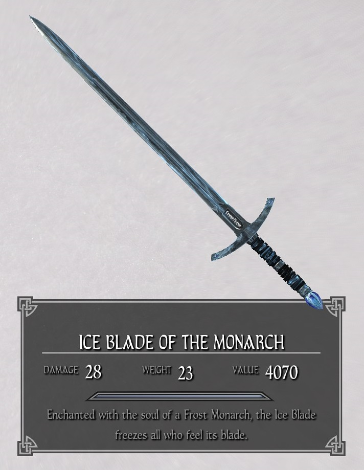 Ice Blade of the Monarch