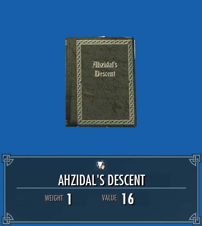 Ahzidal's Descent