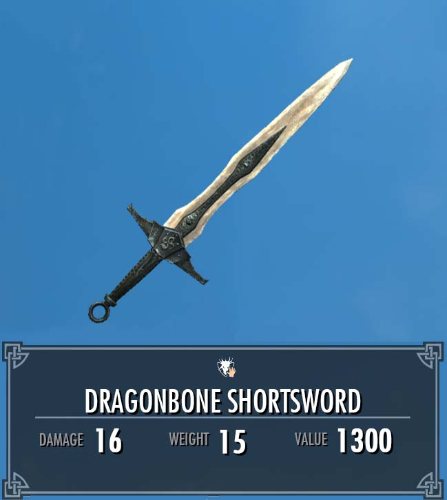 Dragonbone Shortsword