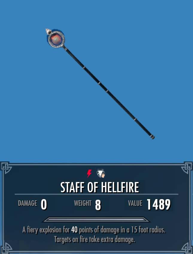 Staff of Hellfire