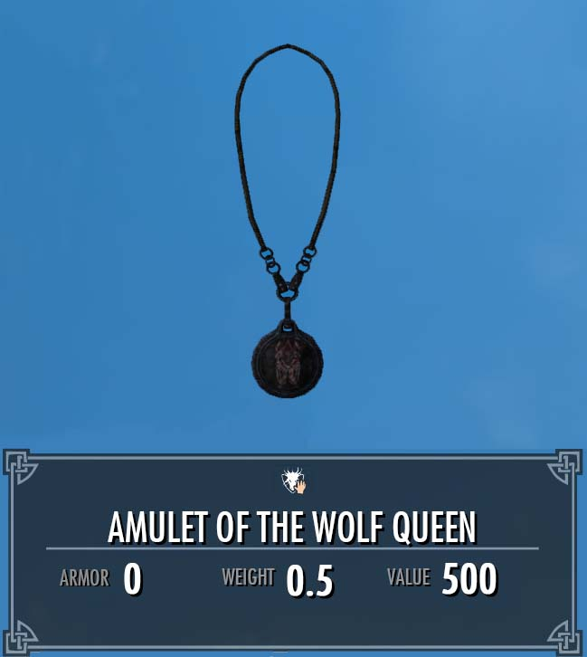 Amulet of the Wolf Queen