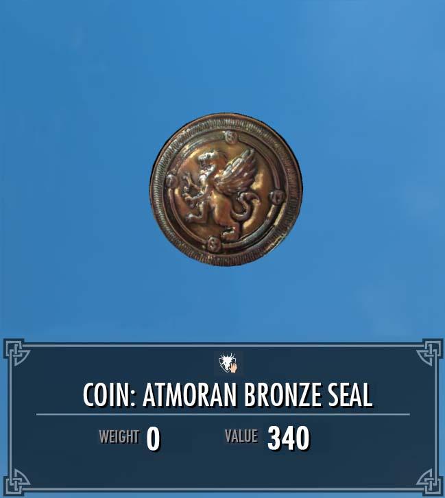 Atmoran Bronze Seal