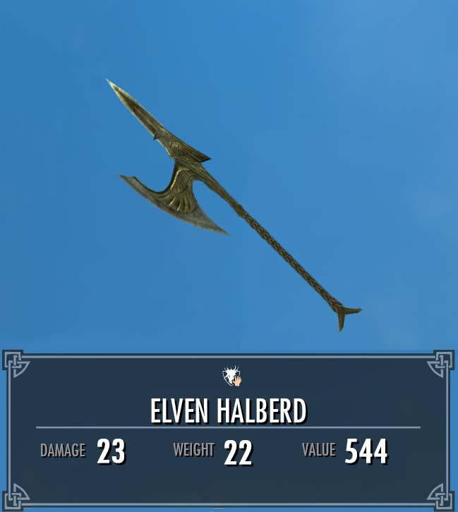 Elven Halberd