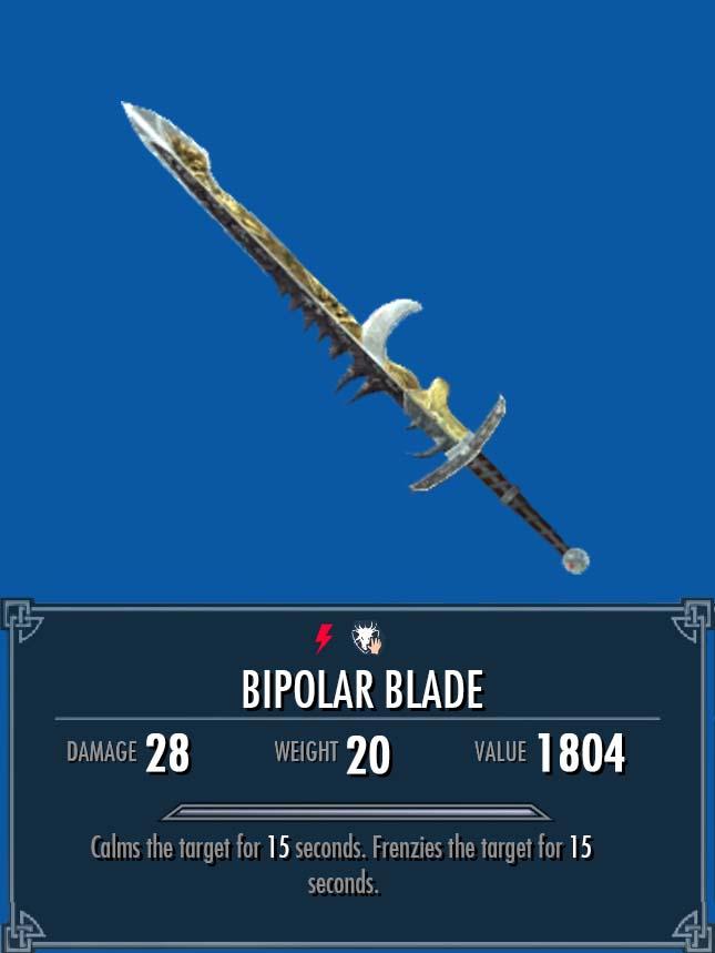 Bipolar Blade