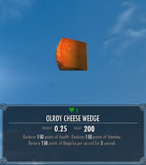 Olroy Cheese Wedge