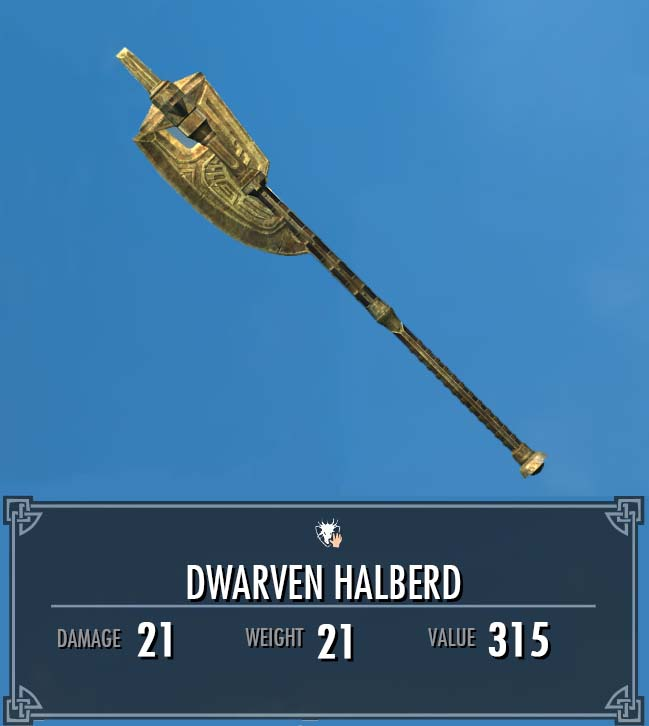 Dwarven Halberd