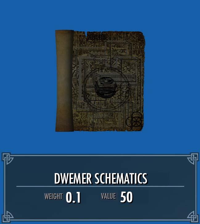 Dwemer Schematics