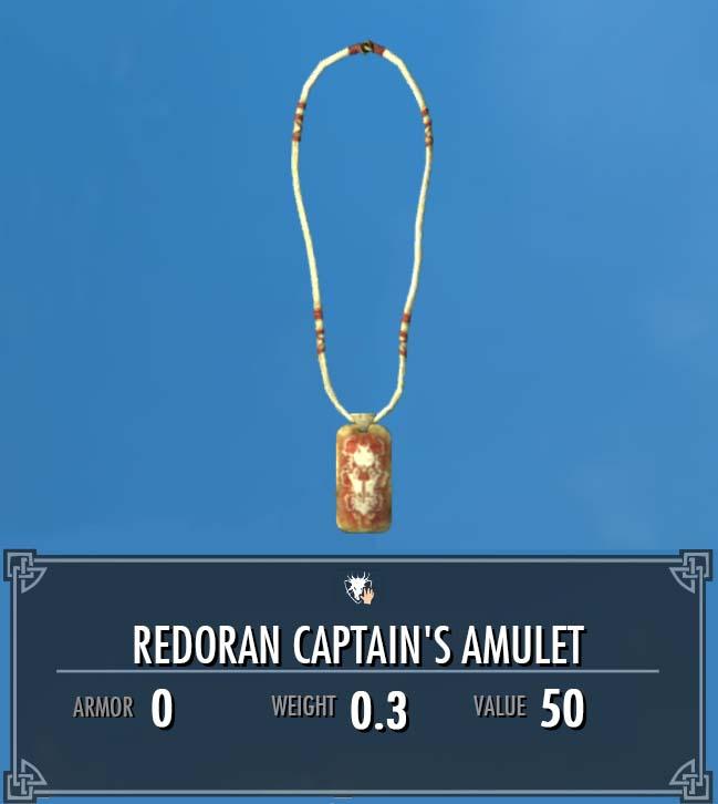 Redoran Captain's Amulet