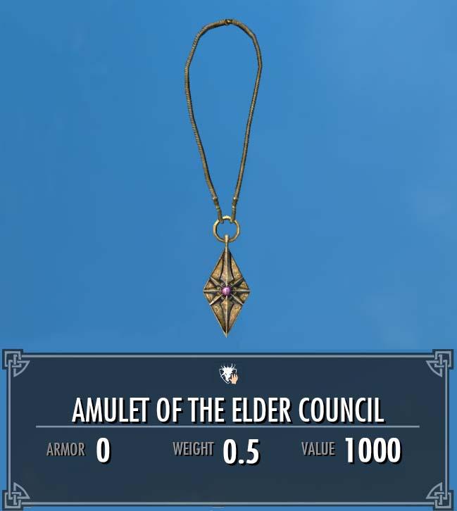 Amulet of the Elder Council