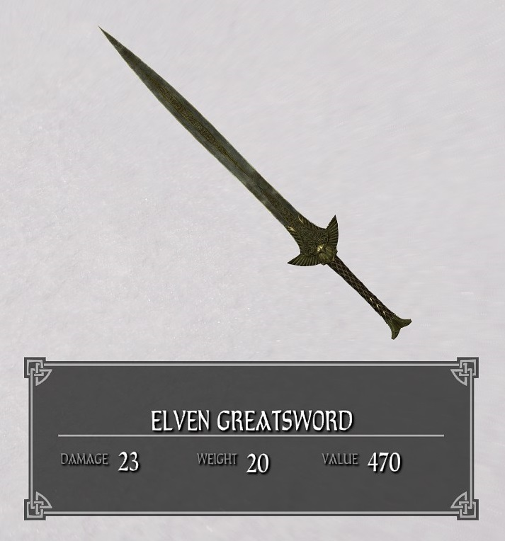 Elven Greatsword