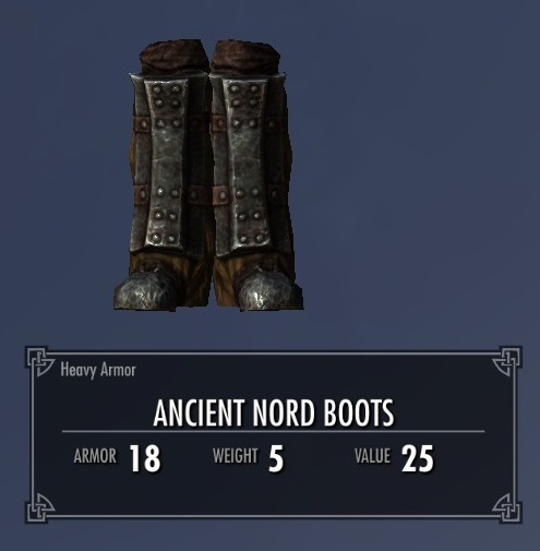 Ancient Nord Boots