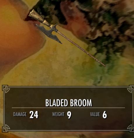 Bladed Broom