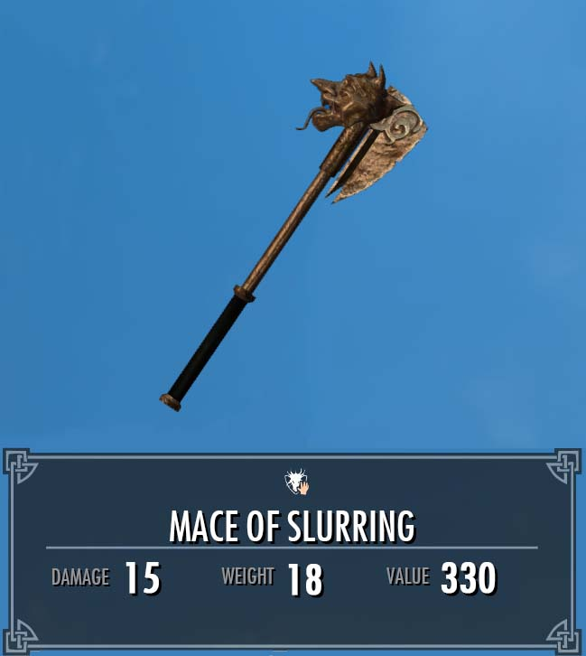 Mace of Slurring