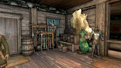 Explorer's Society Guildhouse-Weapons Storage