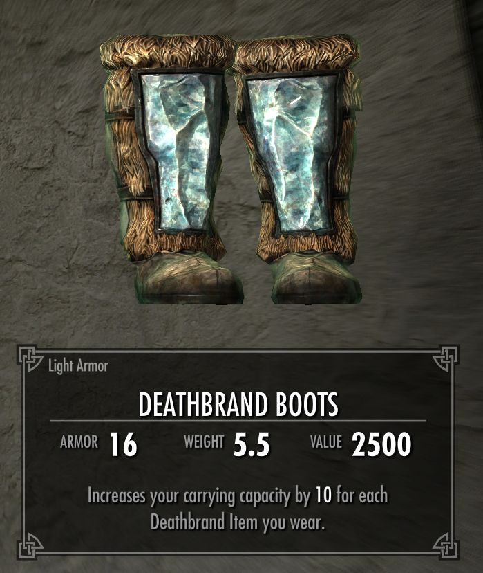 Deathbrand Boots