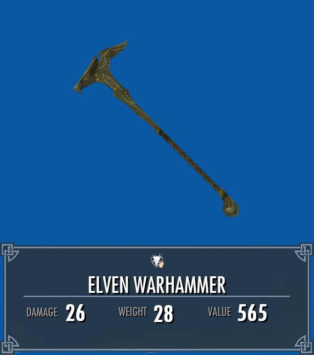 Elven Warhammer
