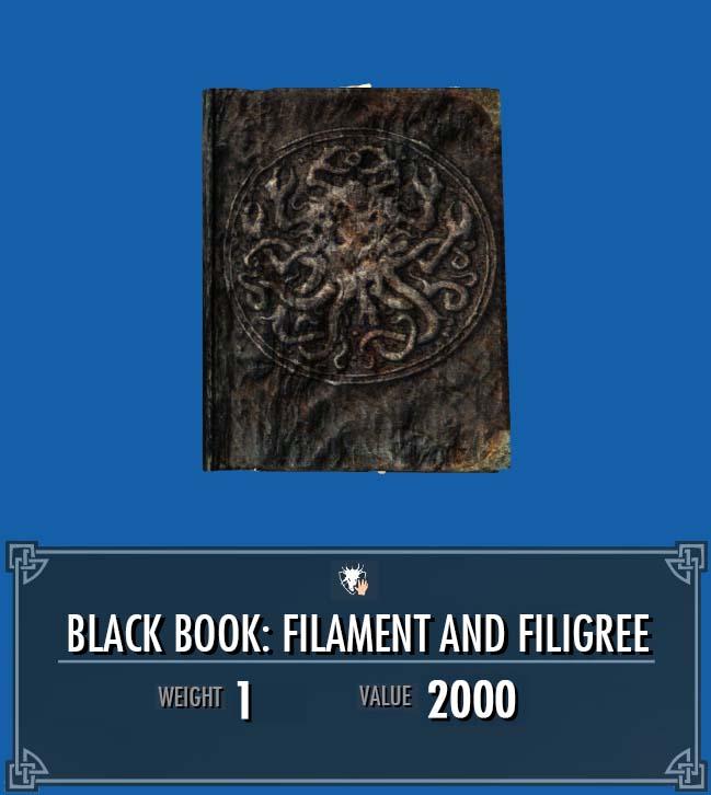 Black Book: Filament and Filigree