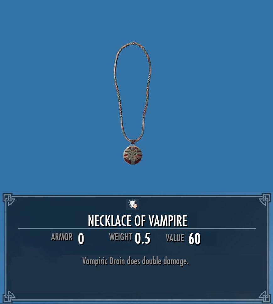 Necklace of Vampire