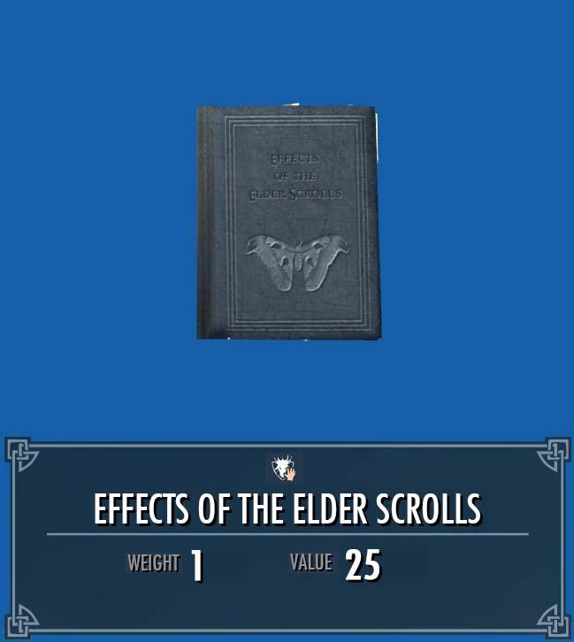 Effects of the Elder Scrolls