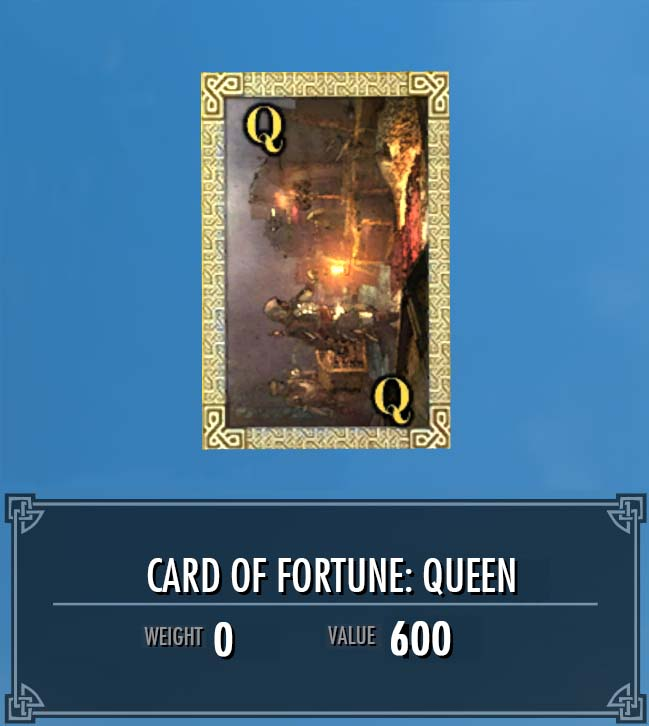 Card of Fortune: Queen