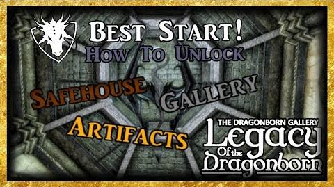 Legacy of The Dragonborn - How to Get The Best Start! - Skyrim SE (Legacy)