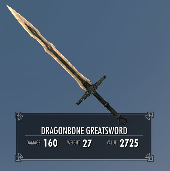 Dragonbone Greatsword