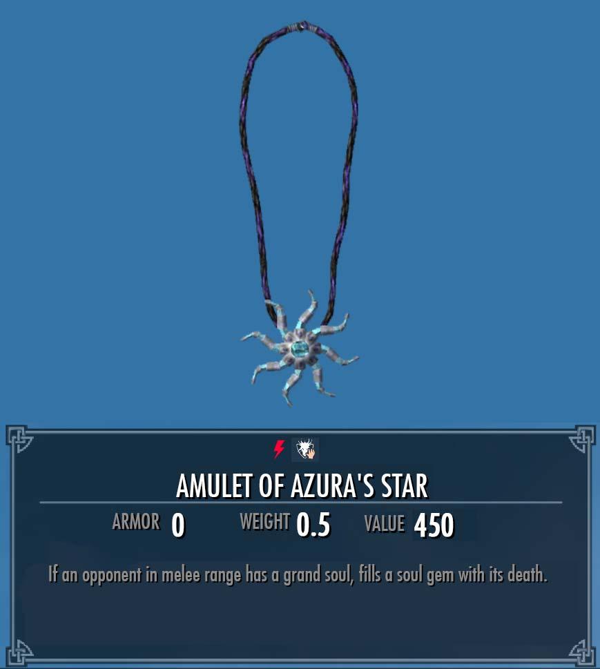 Amulet of Azura's Star