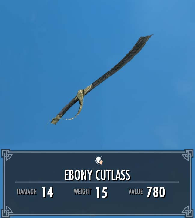 Ebony Cutlass