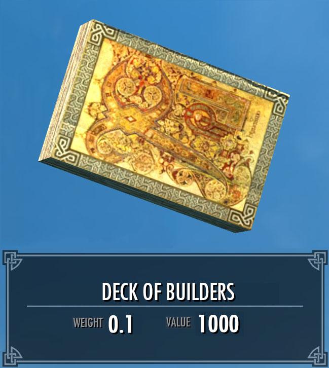 Deck of Builders