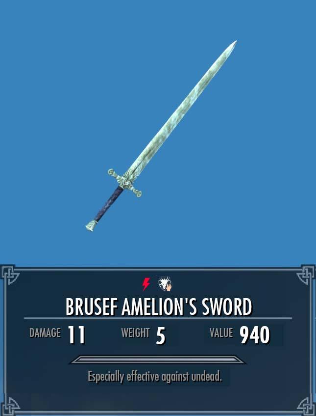 Brusef Amelion's Sword