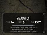 Shadowhunt (Oblivion Artifact Pack)