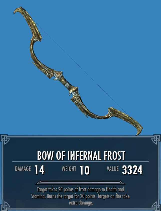 Bow of Infernal Frost