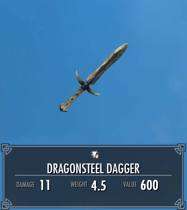 Dragonsteel Dagger