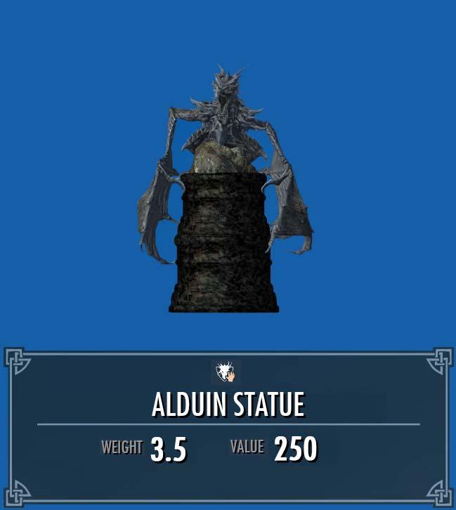Alduin Statue