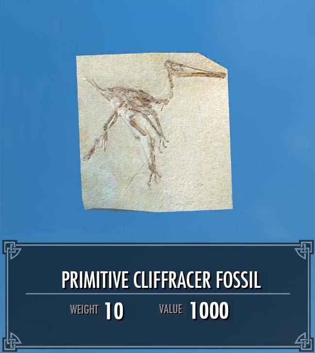 Primitive Cliffracer Fossil