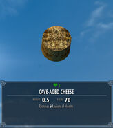 Cave-Aged Cheese