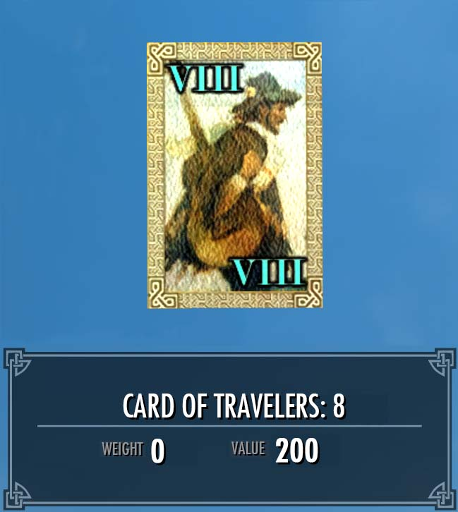 Card of Travelers: 8