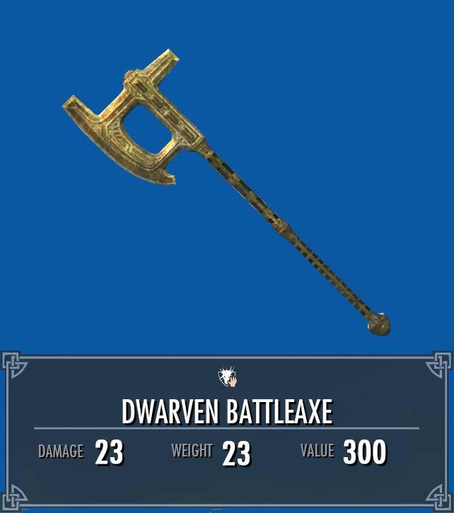Dwarven Battleaxe