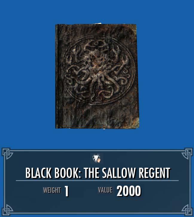 Black Book: The Sallow Regent